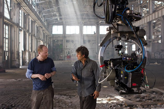 The Avengers - Joss Whedon and Mark Ruffalo