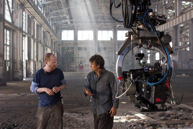 The Avengers - Joss Whedon and Mark Ruffalo
