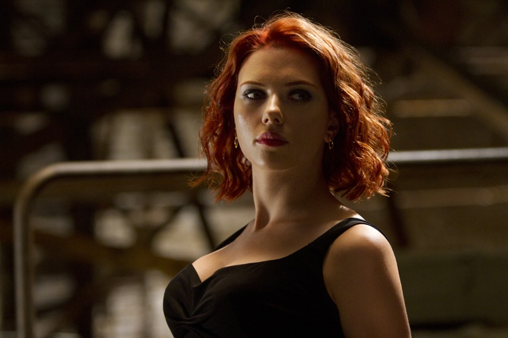 The Avengers (2012) - Black Widow's breasts (portrayed by Scarlett Johansson's breasts)