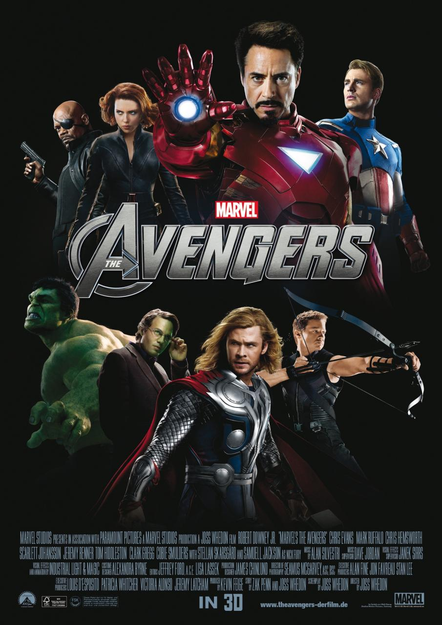 The Avengers - International Poster