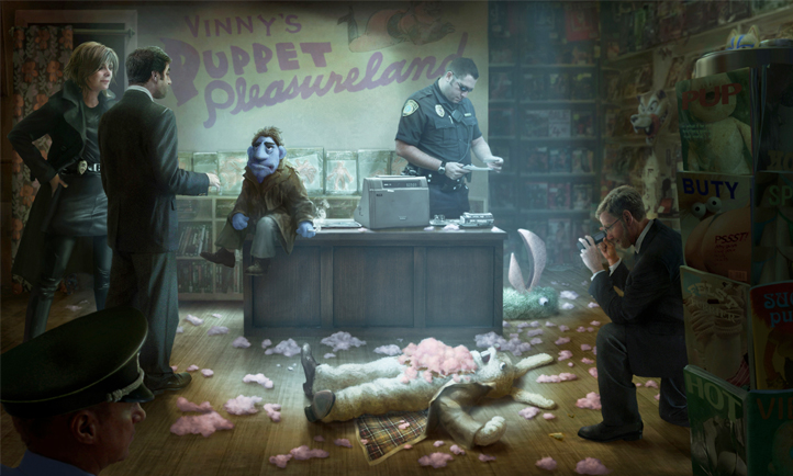 The Happytime Murders - Concept Art