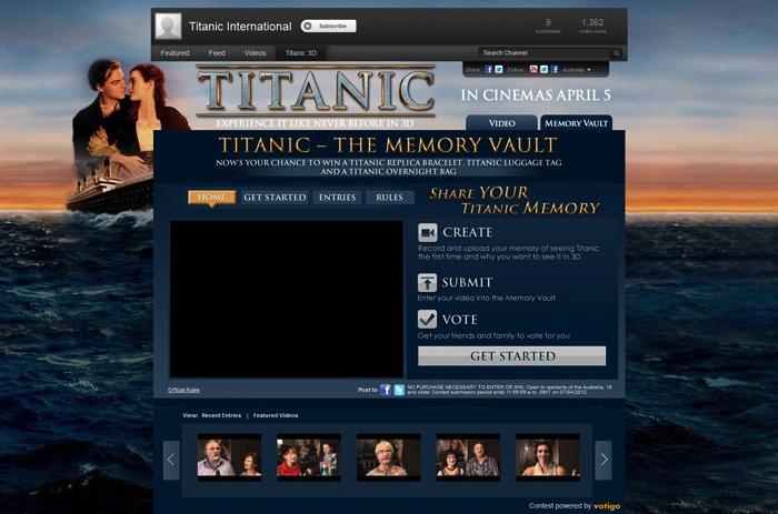 Titanic 3D Memory Vault
