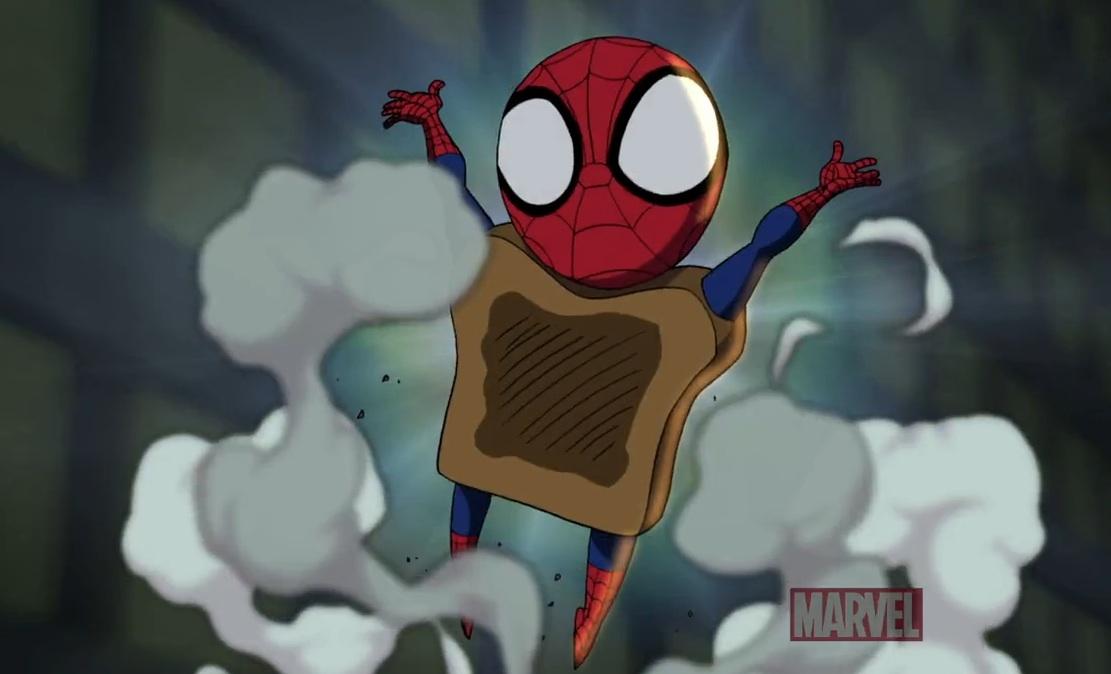 Ultimate Spider-man - Toast