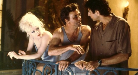 VIBES, Cyndi Lauper, Peter Falk, Jeff Goldblum, 1988, (c)Columbia Pictures