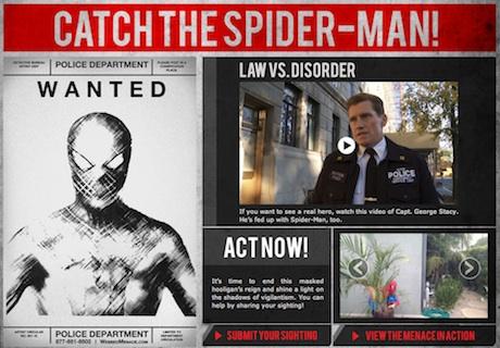 Webbed Menace - The Amazing Spider-man