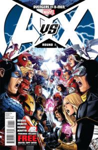 Avengers VS X-Men - Issue #1 (Cover)