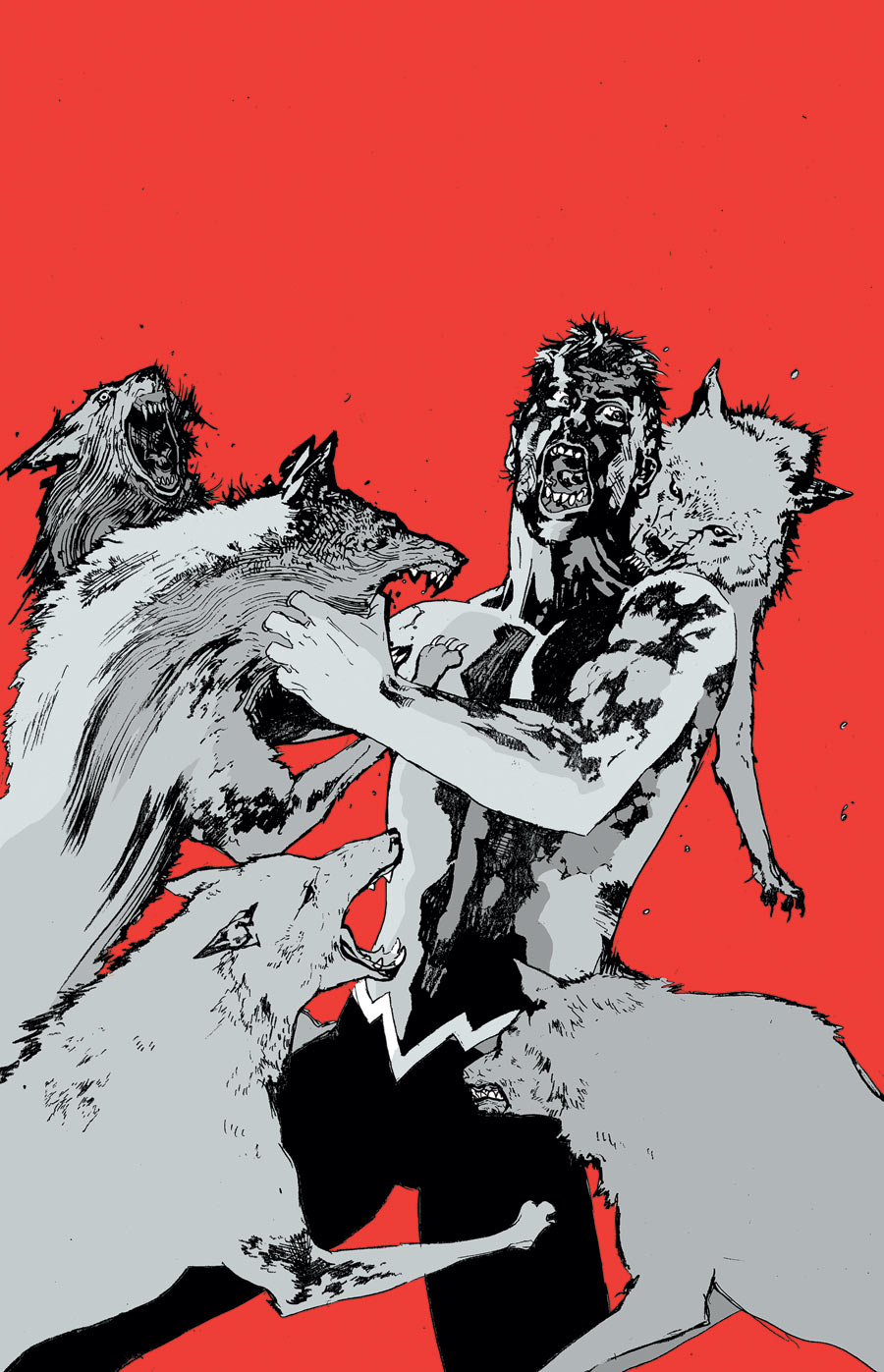 Animal Man #8 (2012) - Cover: Travel Foreman