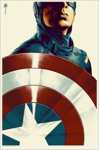 Captain America poster - Mondo