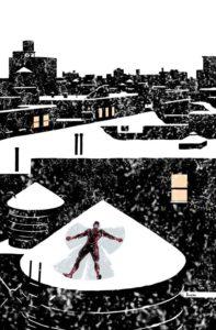 Daredevil #7 Cover - Paolo Rivera