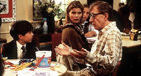 Woody Allen and Mariel Hemingway in DECONSTRUCTING HARRY