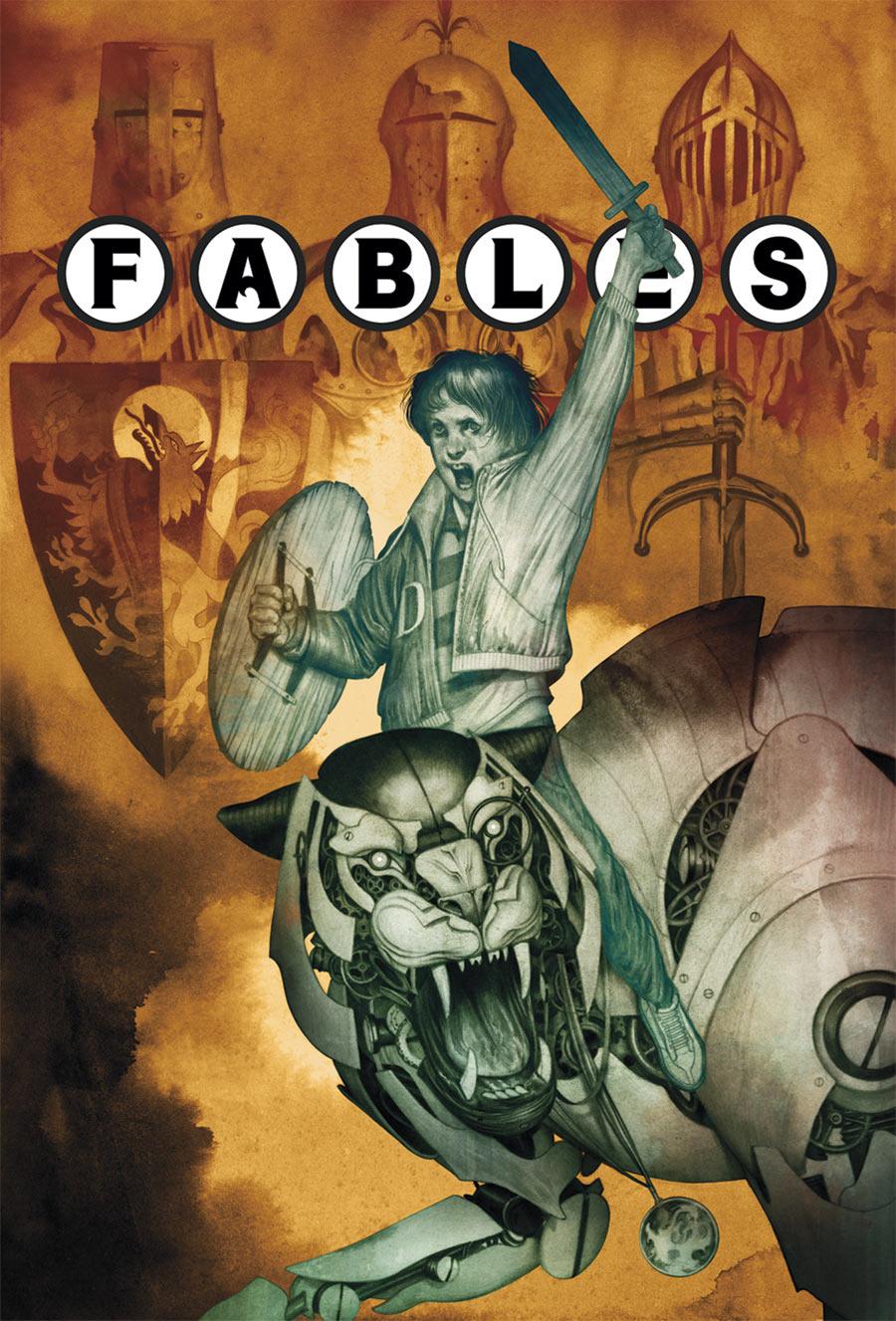 Fables #116 (2012) - DC/Vertigo - Cover: Joao Ruas