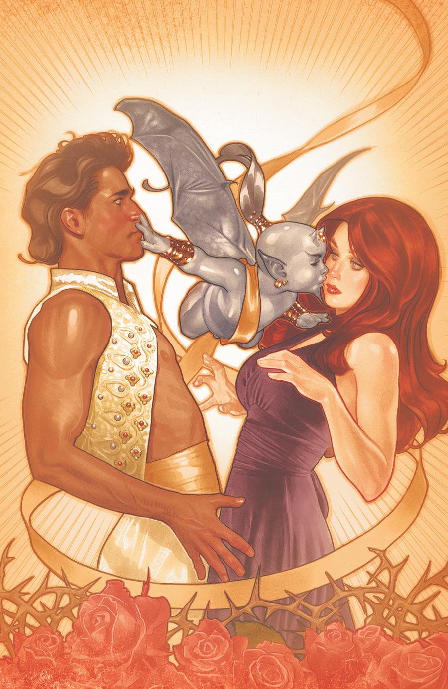 Fairest #2 (2012) - DC/Vertigo - Cover: Adam Hughes