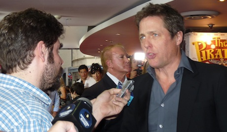 Hugh Grant and Richard Gray