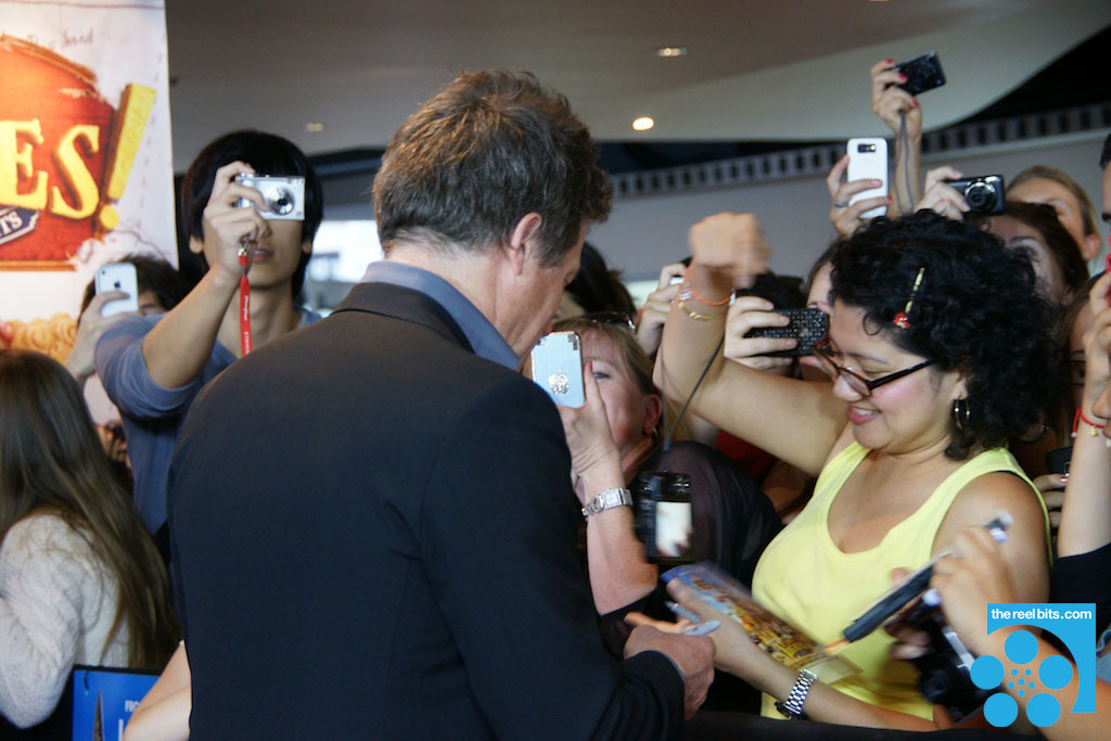 Hugh Grant - Pirates! A Band of Misfits - Sydney Red Carpet Premiere
