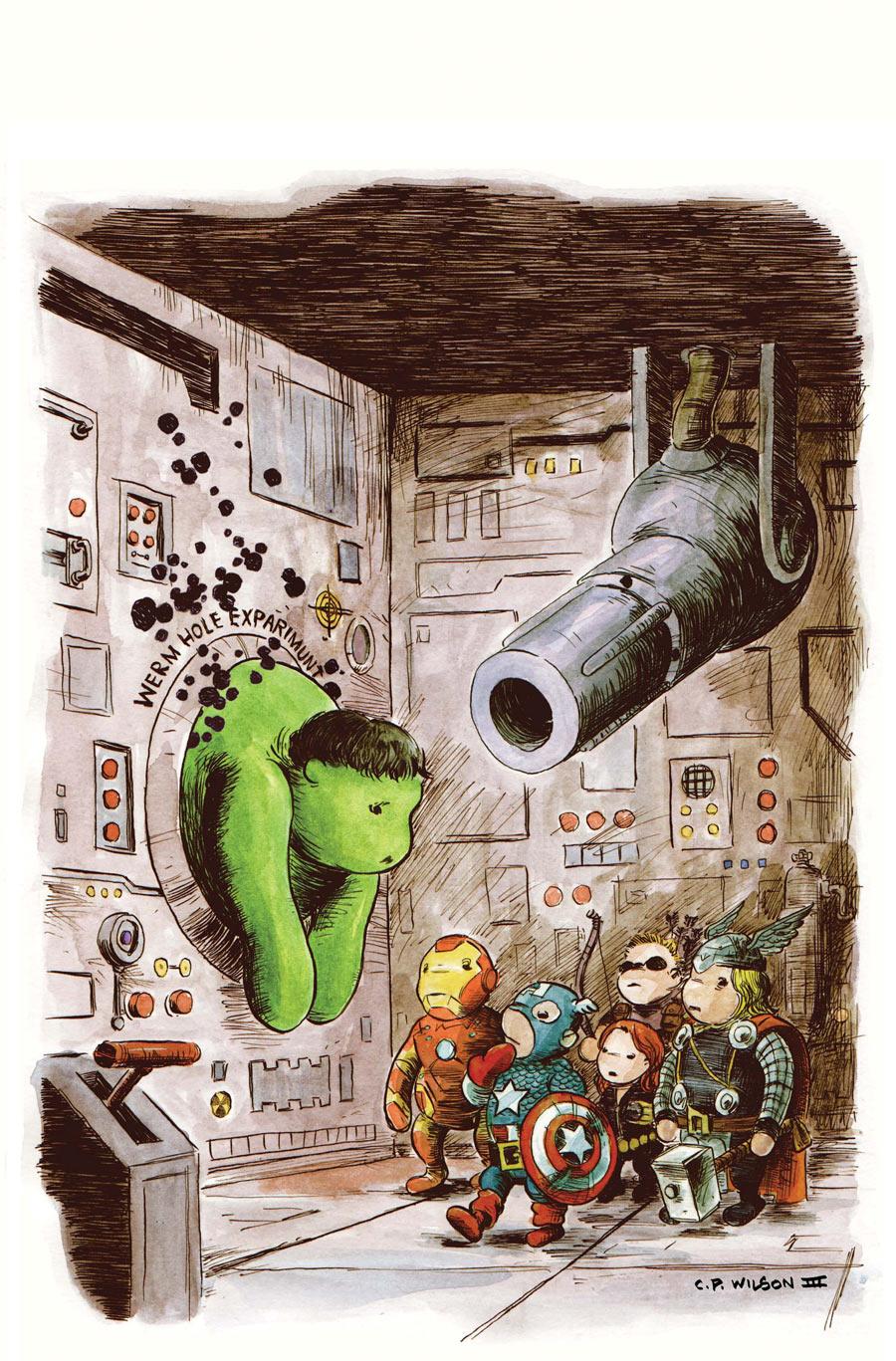 Incredible Hulk #7 - Avengers Art Appreciation Variant By Charles Paul Wilson Iii
