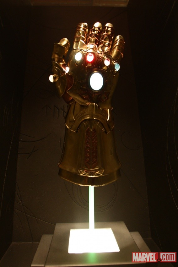 Infinity Gauntlet in Odin's Vault - from THOR (2011)