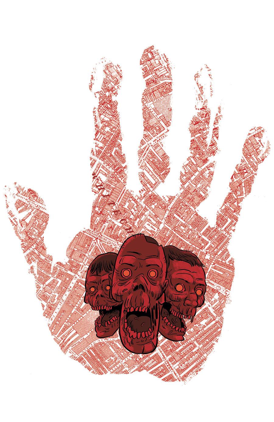 The New Deadwardians #2 (2012) - DC/Vertigo. Cover: I.N.J Culbard