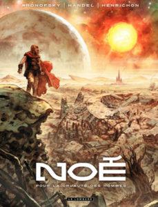 Noah Graphic Novel - Cover poster - Darren Aronofsky