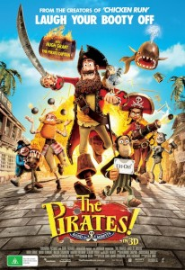 The Pirates! Band of Misfits - Australian Poster (Final)