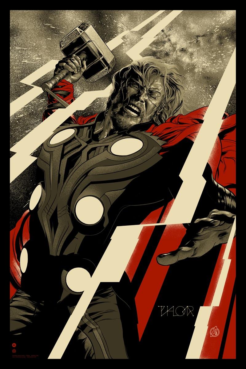 Thor poster Mondo - Final