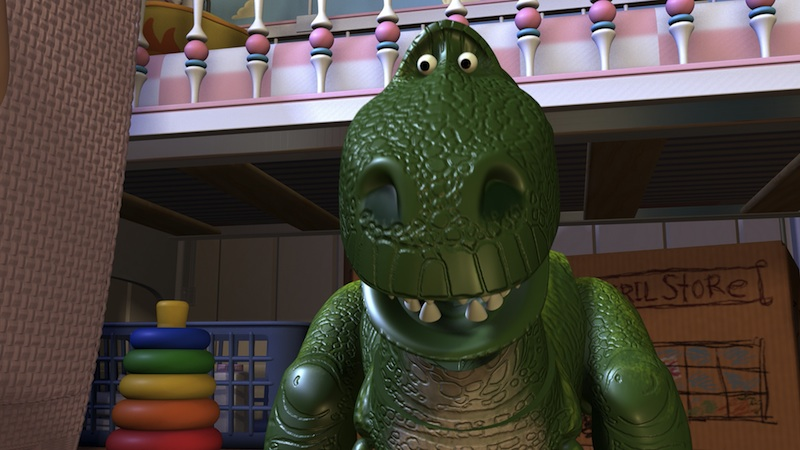Rex the Dinosaur in Toy Story 3