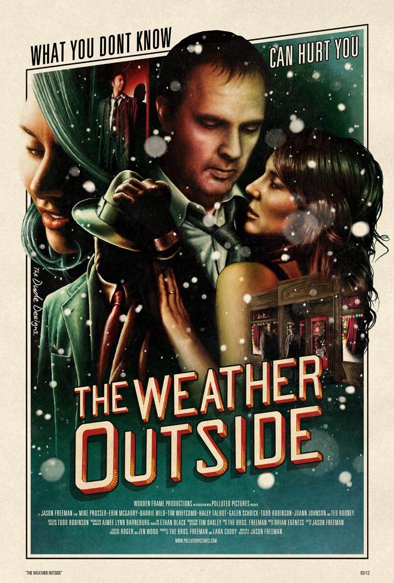 The Weather Outside poster (Tom Hodge)