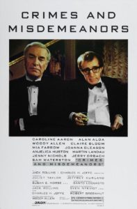 Crimes and Misdemeanors (1989) poster