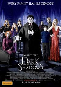 Dark Shadows poster - Australia