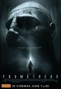 Prometheus poster Australia