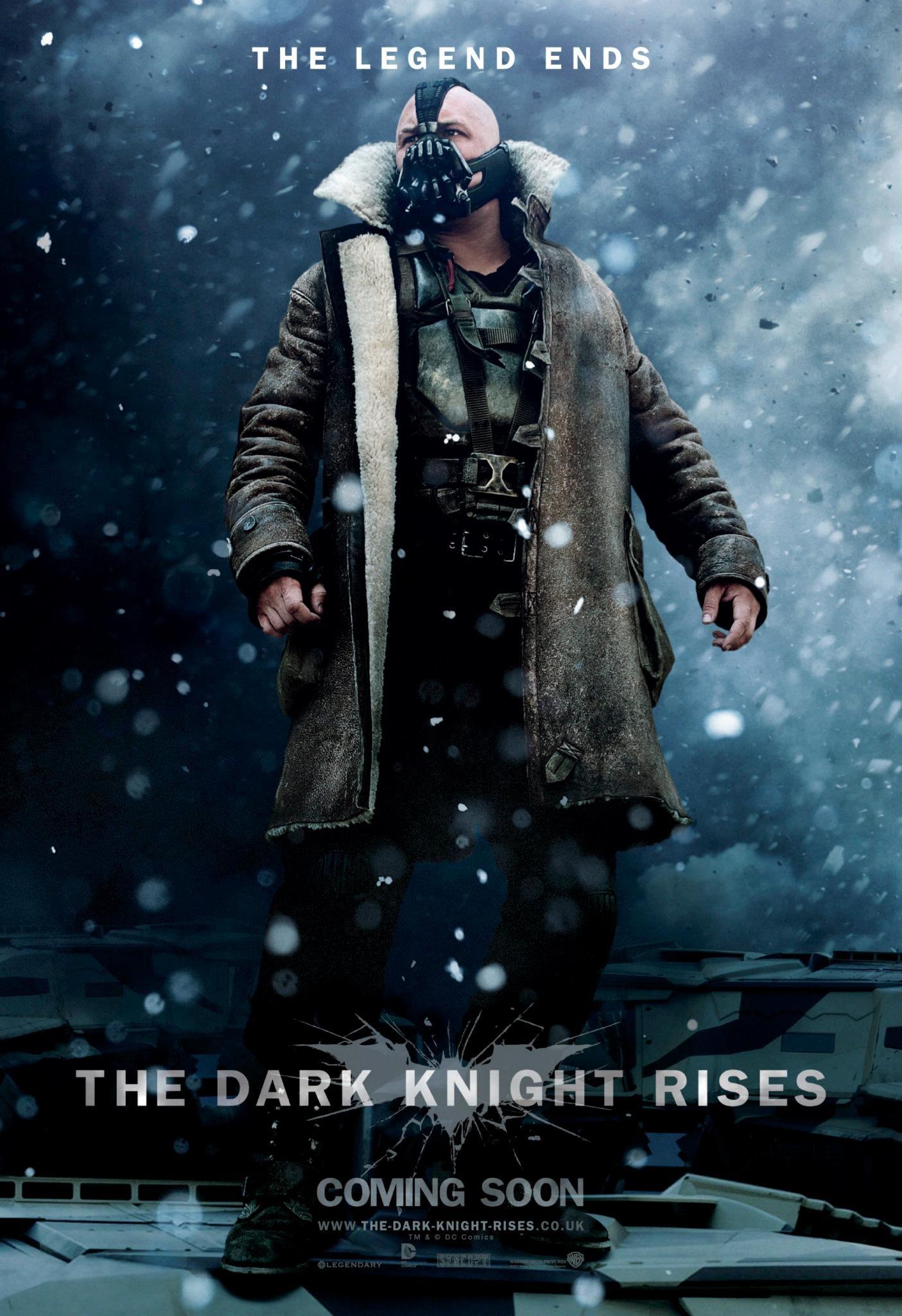 The Dark Knight Rises - Bane poster
