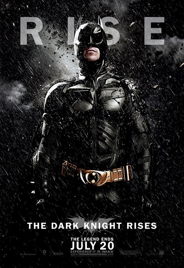 The Dark Knight Rises - Batman poster