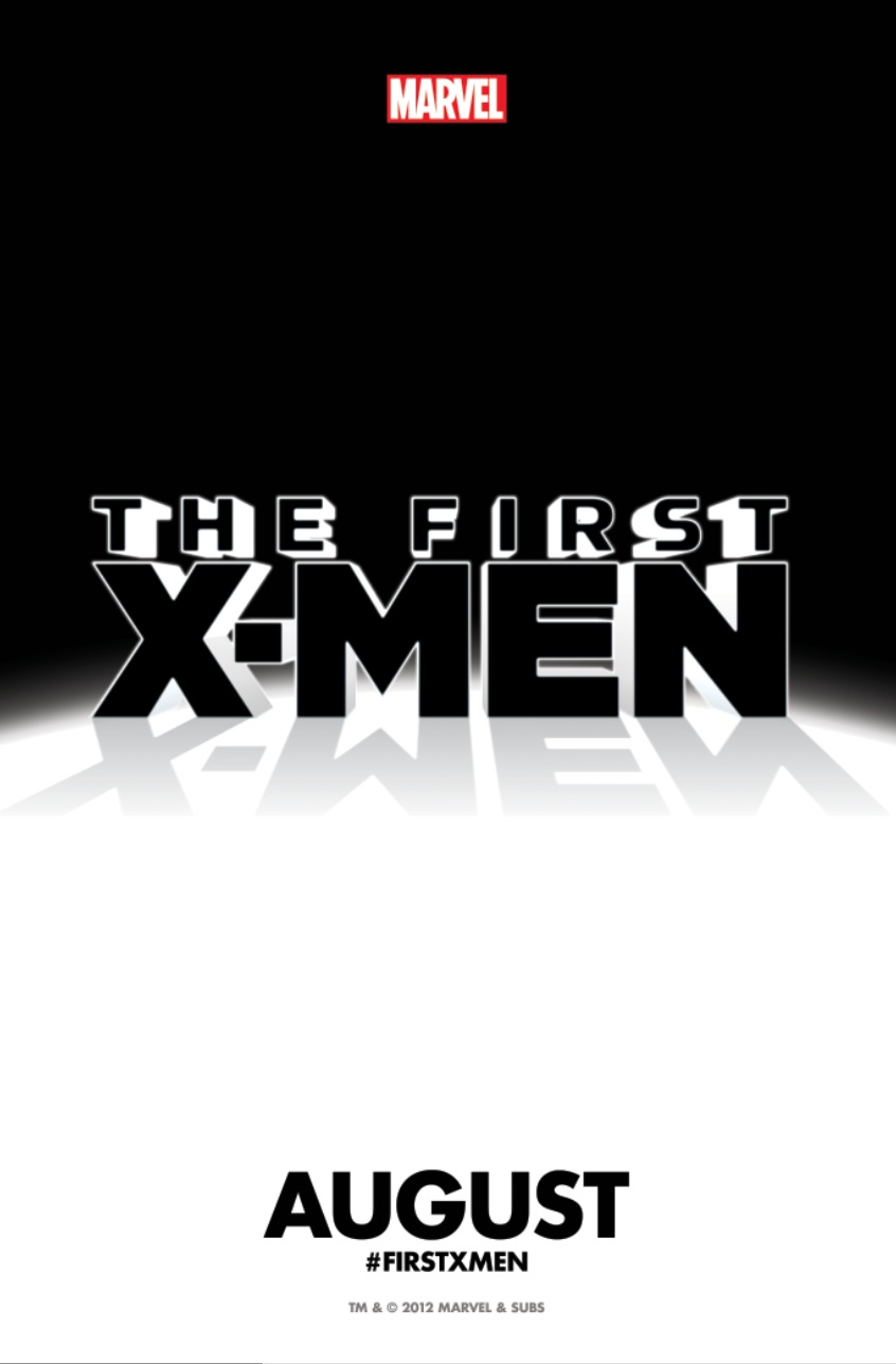 The First X-Men One Sheet