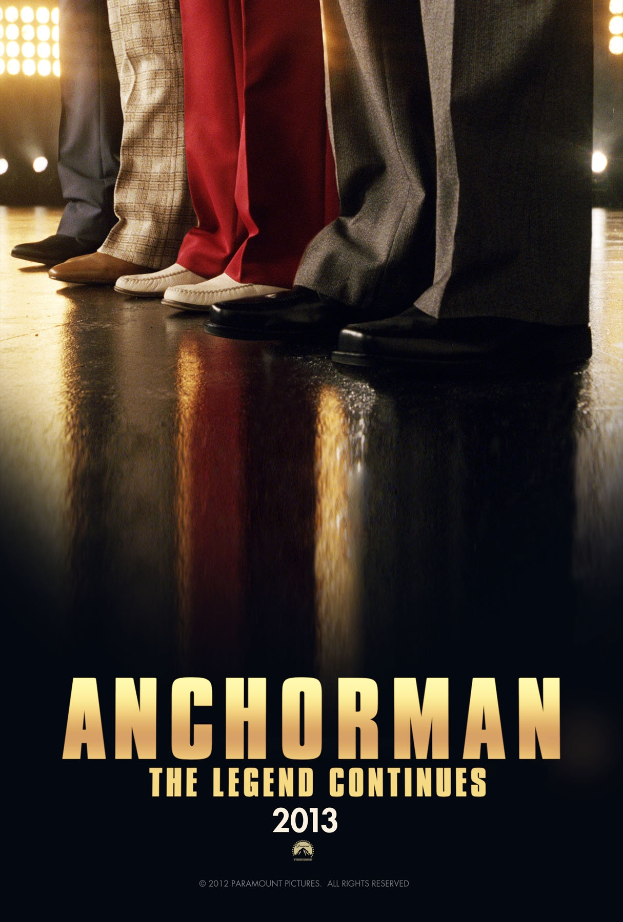 Anchorman: The Legend Continues poster