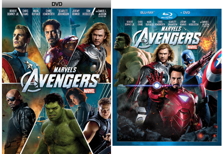 The Avengers - DVD and Blu-ray