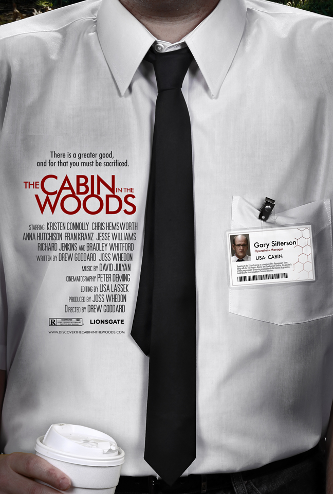 The Cabin in the Woods poster - Hopko Designs