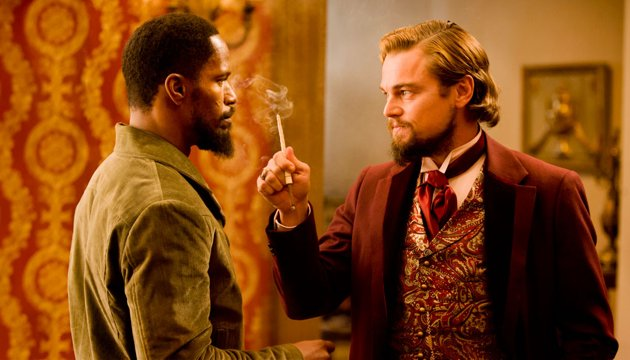 Django Unchanined - Jamie Foxx and Leonardo DiCaprio