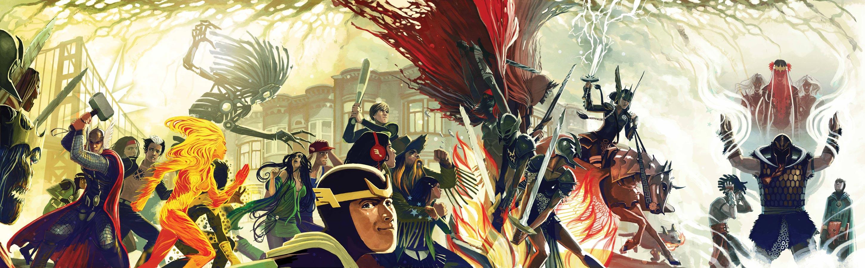 Exiled #1 (Marvel) Cover - Artist: Stephanie Hans