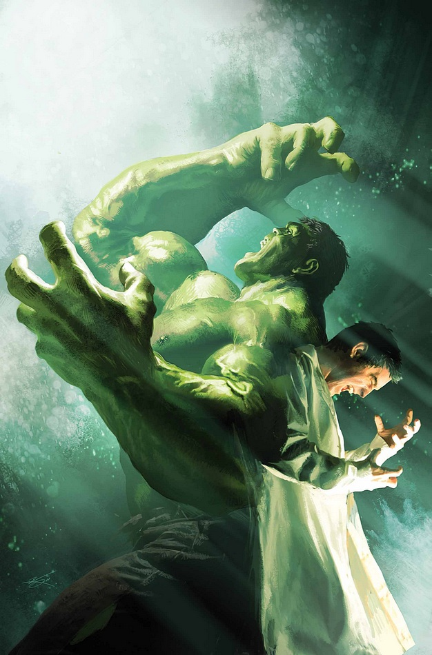 Incredible Hulk 7.1 (Marvel) - Artist: Michael Komarck