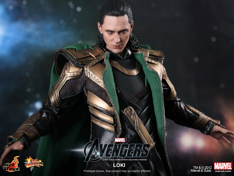 Loki - The Avengers - Hot Toys