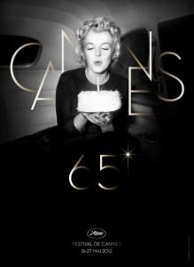 Marilyn Monroe Cannes 65th (2012) poster