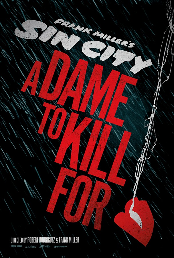 Sin City: A Dame to Kill For promo poster