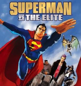 Superman Vs. The Elite poster/cover