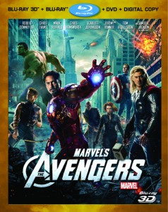 The Avengers Blu-ray Combo Cover