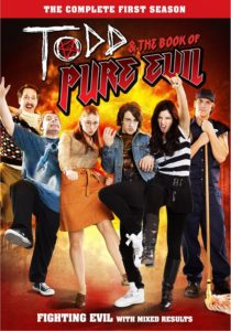 Todd and the Book of Pure Evil DVD