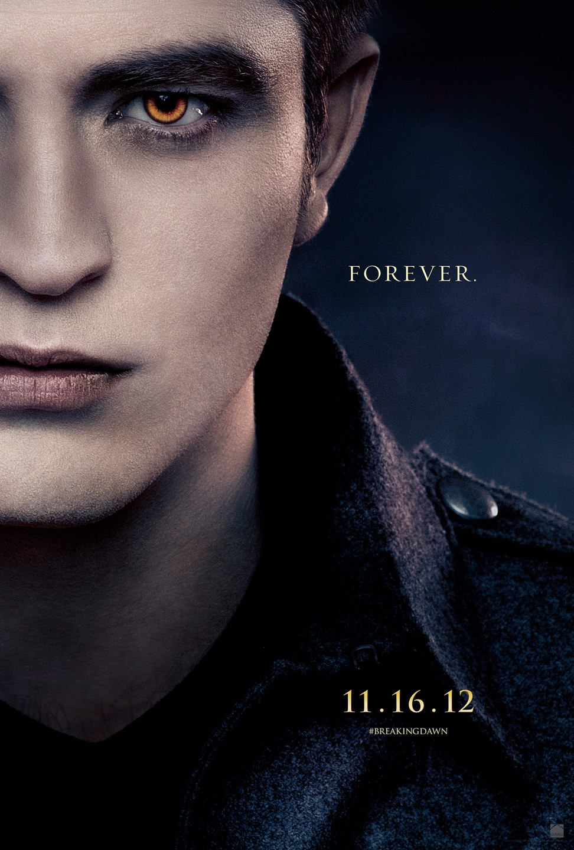 The Twilight Saga: Breaking Dawn Part 2 - Edward (Robert Pattinson) poster