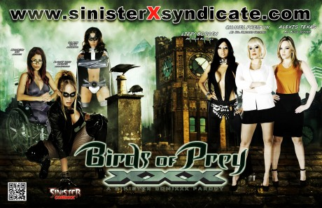 Birds of Prey XXX Parody poster