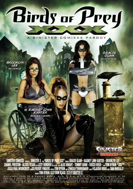 Birds of Prey XXX Parody - Box Front