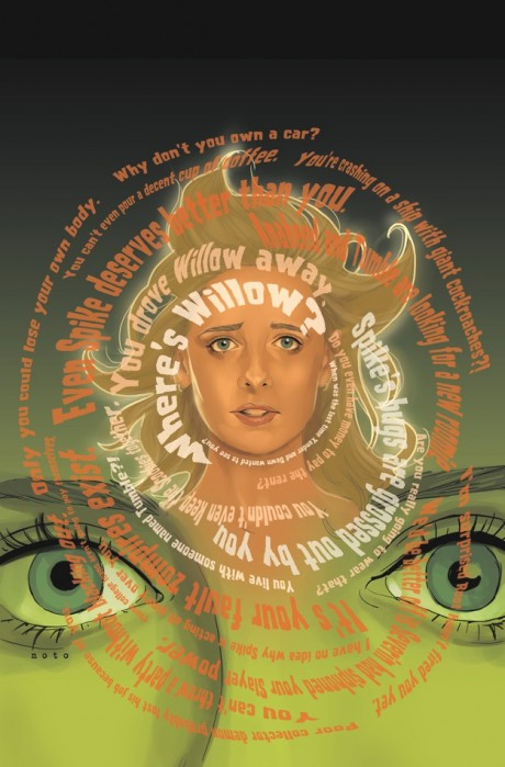 Buffy - Season 9 - Cover #10 (Artist: Phil Noto)