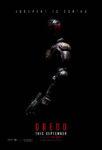 Dredd (2012) poster