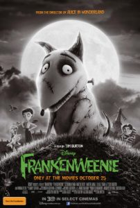 Frankenweenie Key Art poster